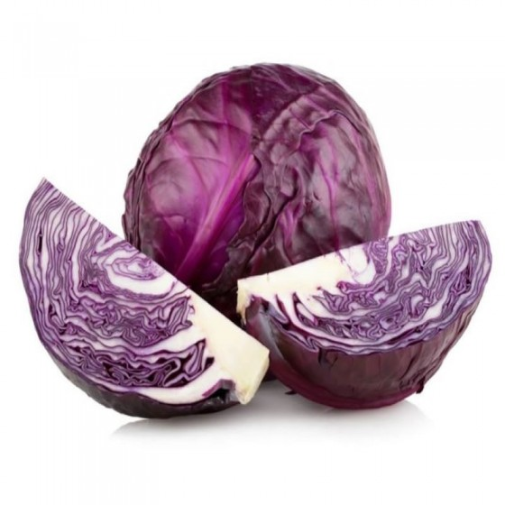 Organic red cabbage 9-11 U.