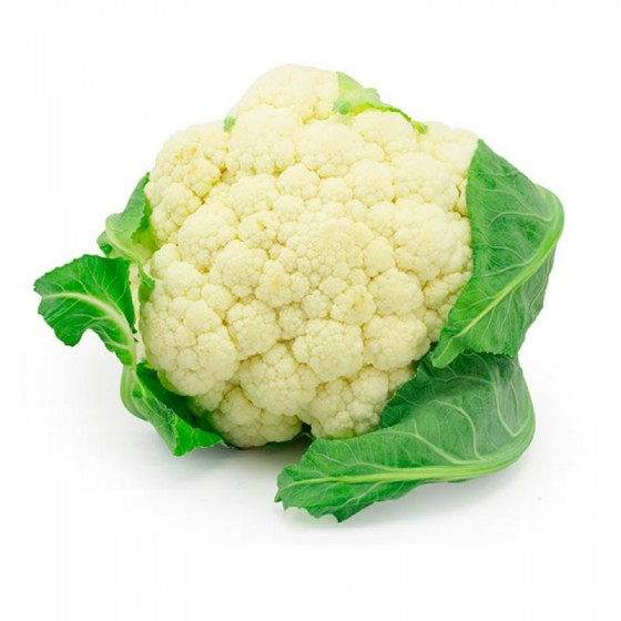 Organic cauliflower 8-10 U.