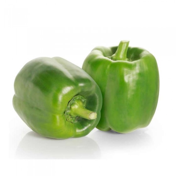 Organic green pepper 0,5 Kg.