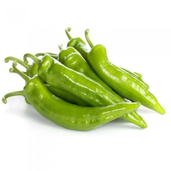 Organic Italian green pepper 1 Kg.