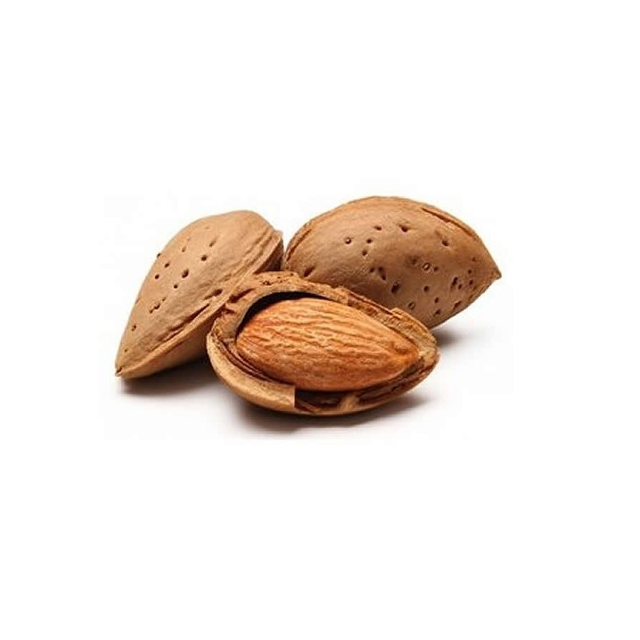 Organic Almond in shell 1 Kg.