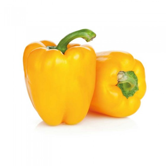 Organic yelow pepper 5 Kg.