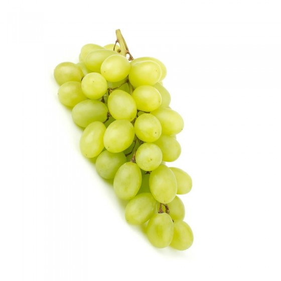 Organic white grapes 1 Kg.
